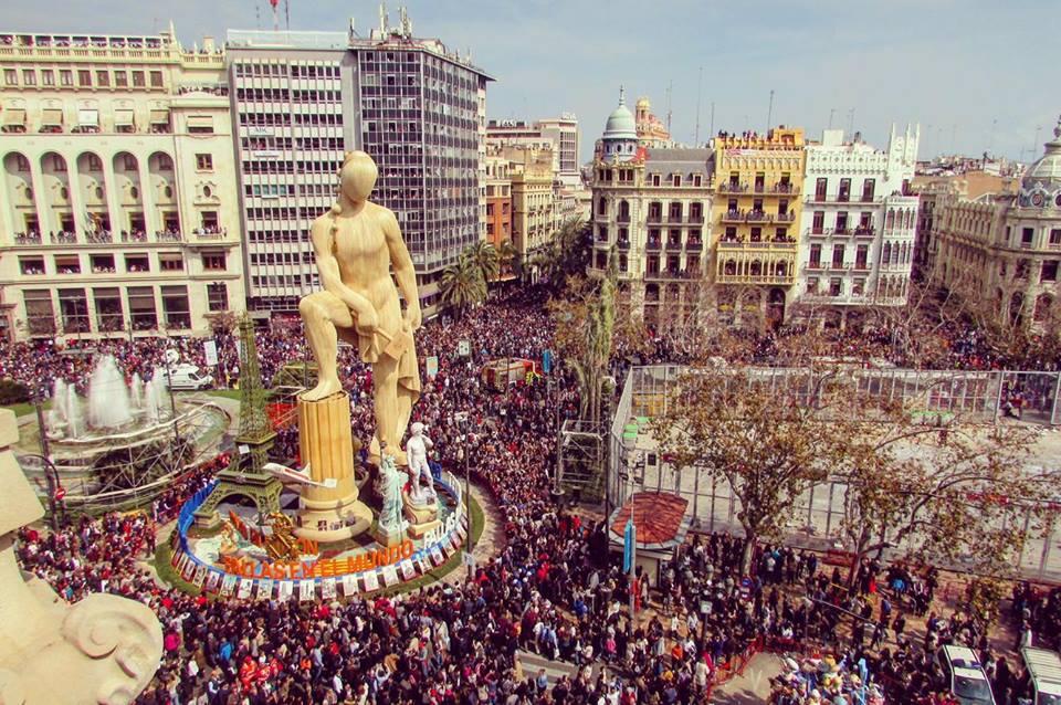 Vive las Fallas de Valencia