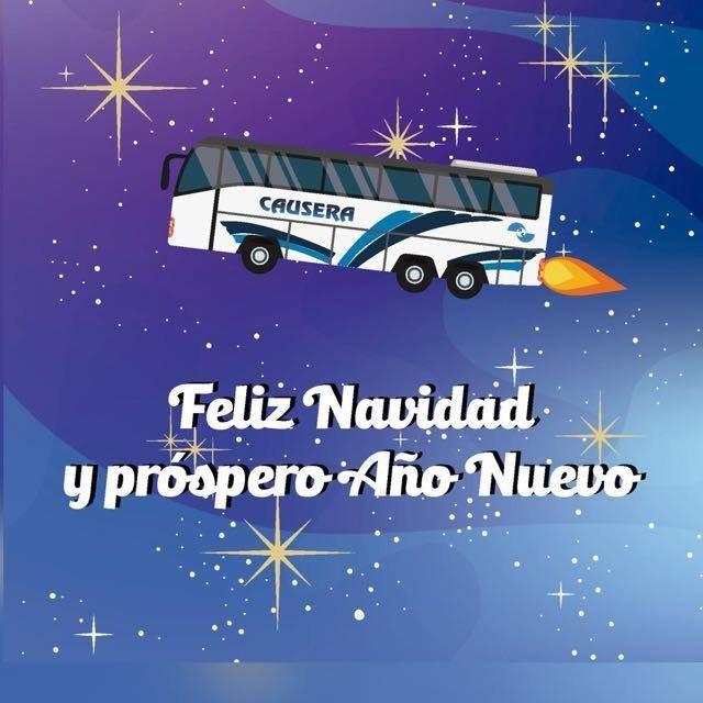Feliz navidad, Alquiler de autobús en Valencia